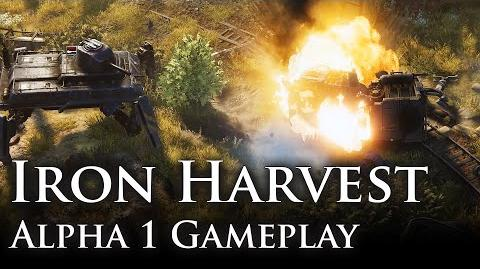 Iron Harvest - Alpha 1 Gameplay