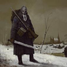 Nordic Soldier Art