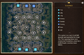 The Great Wastes Map Legend