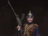 Saxon Machine Gunner