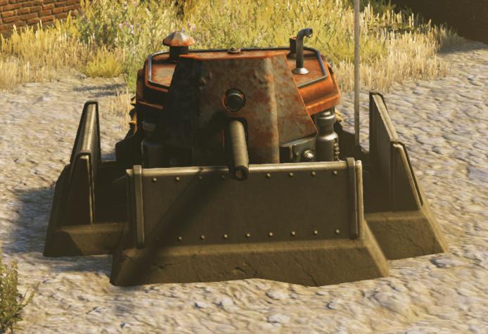 Saxon Cannon Bunker