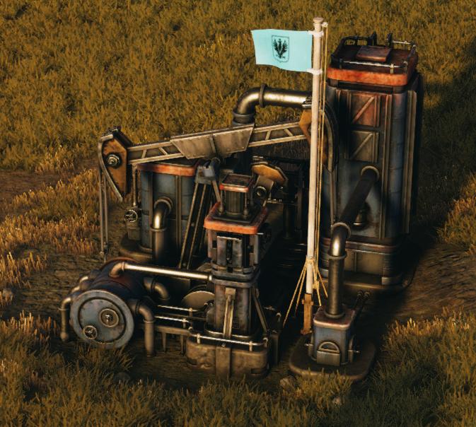 Big Saxon Oil Pump