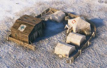 Polania advanced barracks