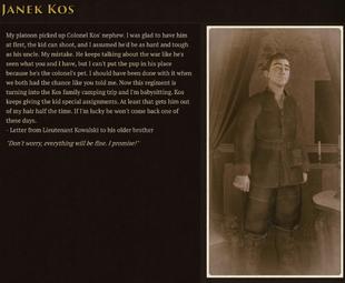 Janek Lore Codex