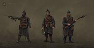 Saxonian Infantry