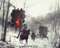 'red banner' concept art