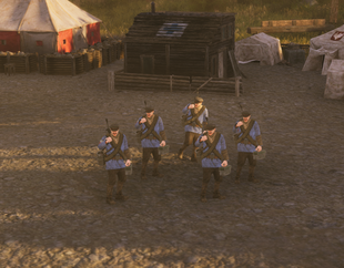 Polanian MG Soldiers ingame