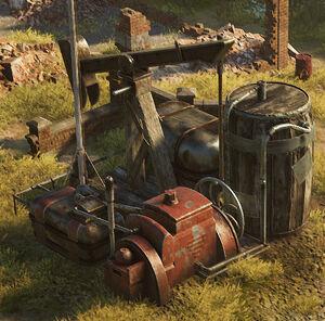 Oil Resource Point - Iron Harvest