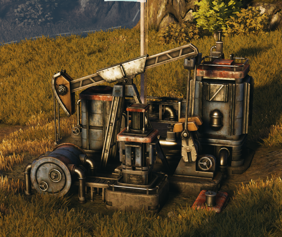 Saxon Oil Pump