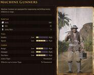 Usonian Machine Gunner Stats