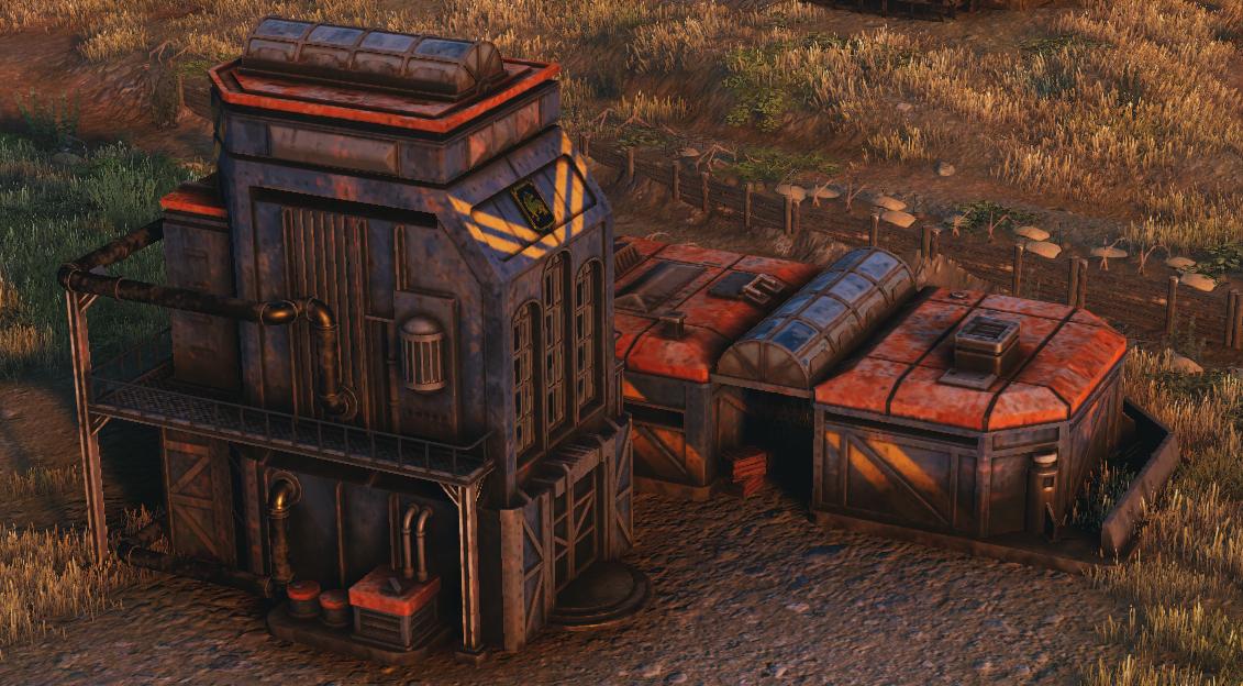 Saxon Headquarters