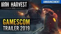 Iron Harvest Gamescom Trailer 2019