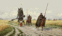 Jakub-rozalski-1920-polanian-lancers-on-the-patrol