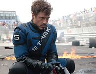 Tony on the Grand Monaco Racing Track