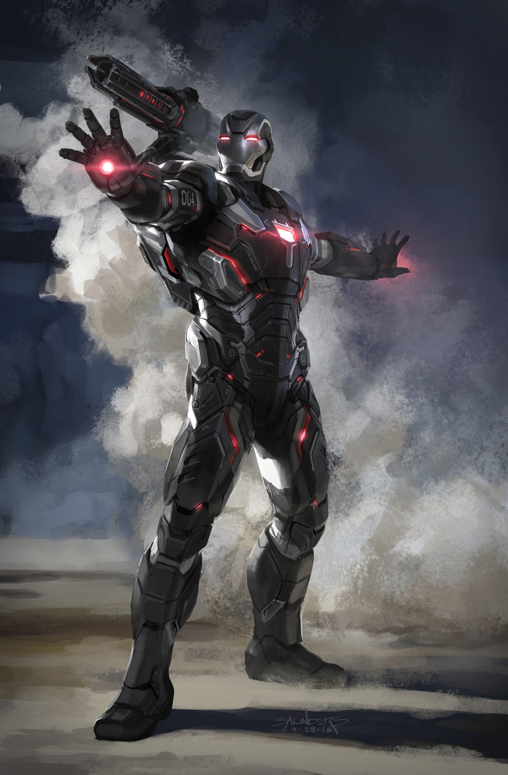 War Machine Armor Mark IV