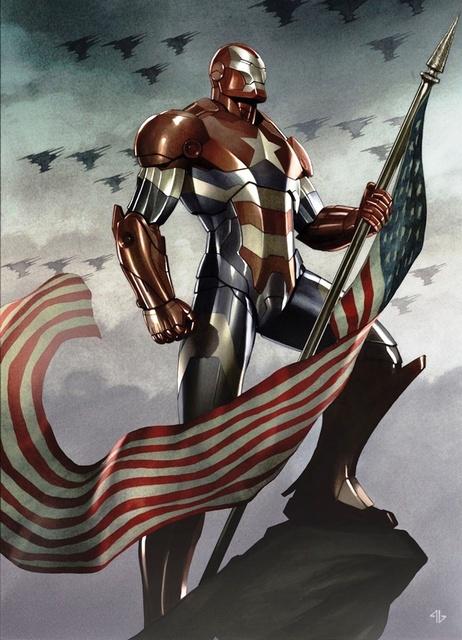 Iron Patriot Armor (Earth-616)