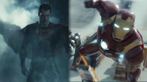 Iron Man V Superman Trailer Promo