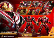 Hot toys preview hulkbuster