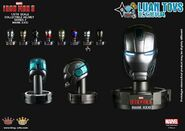 KING-ARTS-MARVEL-IRON-MAN-3-鋼鐵人-3-COLLECTIBLE-HELMET-SERIES-2-鋼鐵人頭像第二彈-PISTON-活塞、MARK-XXXI、MARK-31、馬克31