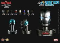 KING-ARTS-MARVEL-IRON-MAN-3-鋼鐵人-3-COLLECTIBLE-HELMET-SERIES-2-鋼鐵人頭像第二彈-PISTON-活塞、MARK-XXXI、MARK-31、馬克31