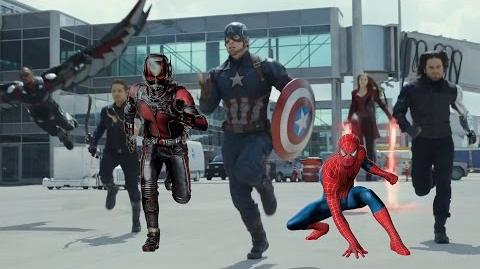 Captain America Civil War Trailer With Spider-Man & Ant Man (FanMade)