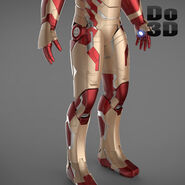 Large iron man 3 suits - mark 42 tony stark mark 39 gemini 3d model 3ds fbx obj max 864cb577-71cb-440e-9c84-a21f4d87a623