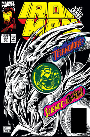 Iron Man Volume 1 295