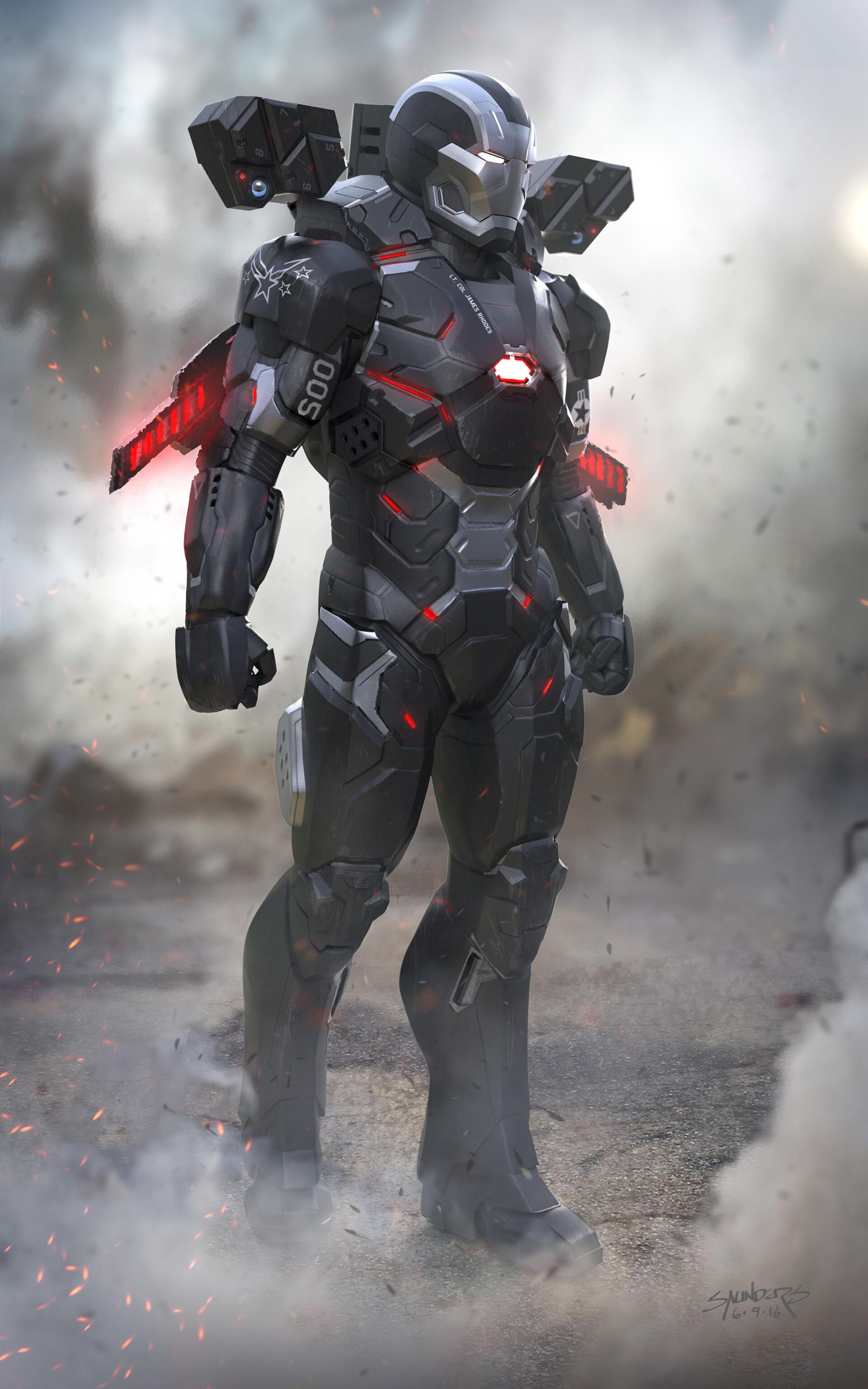 War Machine Armor Mark V