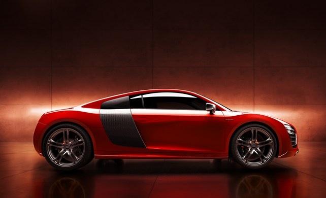 Audi R8 e-tron (Red)