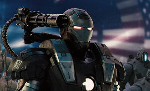 War Machine at the Stark Expo