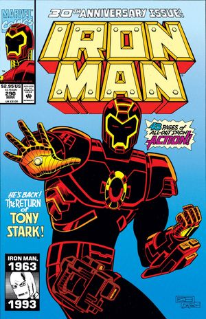 Iron Man Volume 1 290