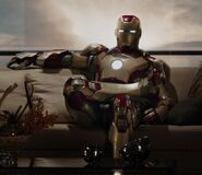 Iron Man Armor MK XLII (Earth-199999) from Iron Man 3 (film) 001