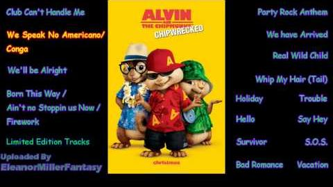 We No Speak Americano Conga Official SoundTrack Chipmunks Chipettes Chipwrecked Deluxe Album
