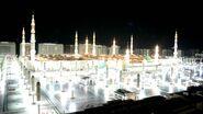 Prophet's Mosque in Night