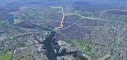 MetroAMS luchtfoto