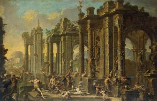 320px-Magnasco, Alessandro and Spera, Clemente - Bacchanalian Scene - 1710s.PNG