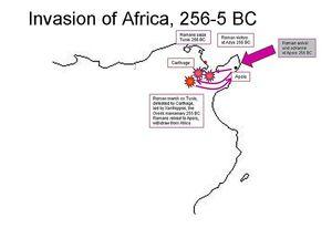 Римска инвазија Африке