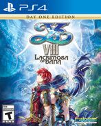Ys VIII (Day One Edition PS4 boxart)