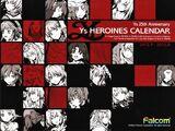 Ys Heroines Calendar (2012.9 - 2013.8)