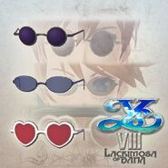 Ys VIII - Stylish Sunglasses Set (DLC)