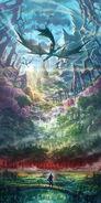Ys VIII - Mural Adol
