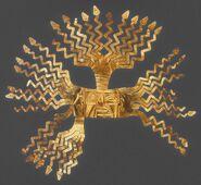 Inca Sun Mask