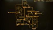 REPCONN Office top floor map