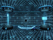 X-13 VR simulation room
