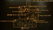 REPCONN Office main floor map