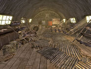 Hopeville Armory interior