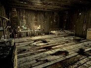 Nuclear test shack interior