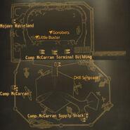 Camp McCarran loc map
