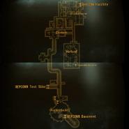 REPCONN test site basement map