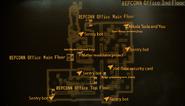 REPCONN Office 2nd floor map